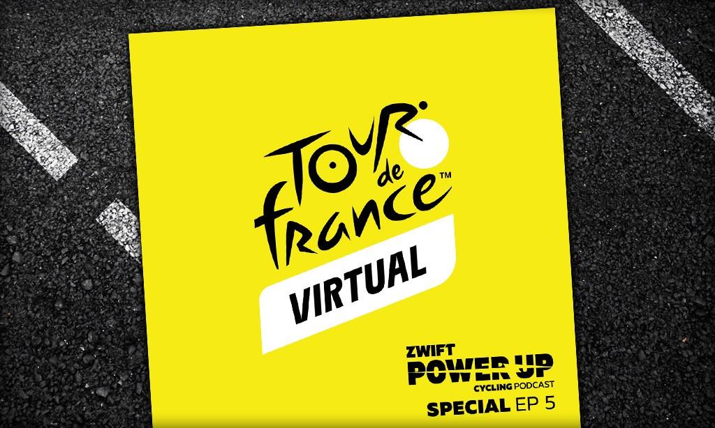 Virtual Tour de France Special: Mont Ventoux, the Champs-Élysées, and PowerUp Timing (Zwift PowerUp Cycling Podcast)