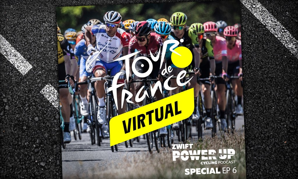 Virtual Tour de France Stage 5 and 6 Winner Interviews with Ash Moolman Pasio, Mike Woods And More (Zwift PowerUp Cycling Podcast)
