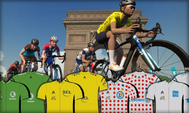 Current Standings – Men's Team Classifications – Virtual Tour de France
