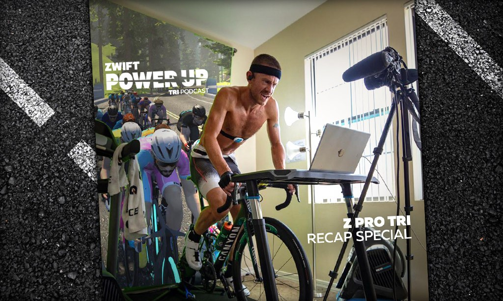 A Chat with the Z Pro Tri June Invitational Winners (Zwift PowerUp Tri Podcast)