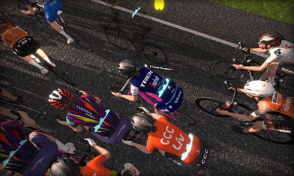Race Writeup: Virtual Tour de France Stage 1 – Women
