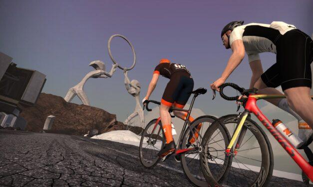 Steering vs Distance: Testing the Sterzo On Alpe du Zwift