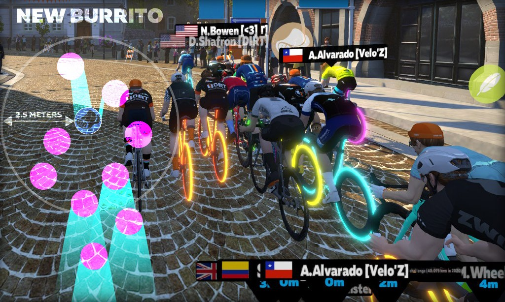 All About Zwift's Updated Feather and Burrito Powerups