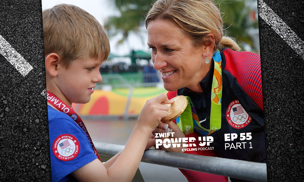 Athlete and Mom and Beyond—Training Through Pregnancy Part 1 (Zwift PowerUp Cycling Podcast #55)