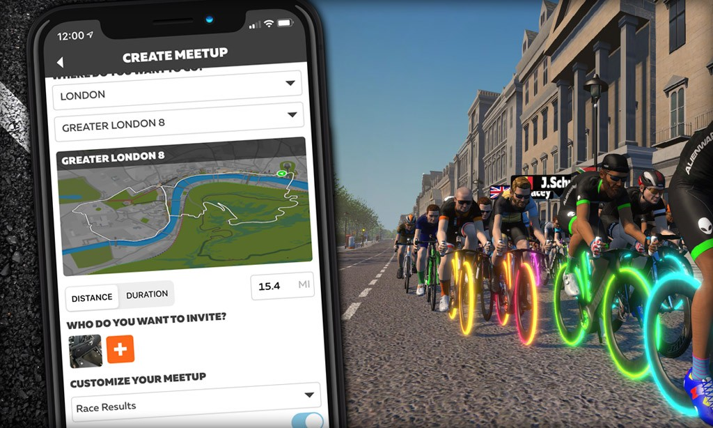 Zwift Companion 3.17 Released: Late Join, Race Results, and Paris+France for Meetups