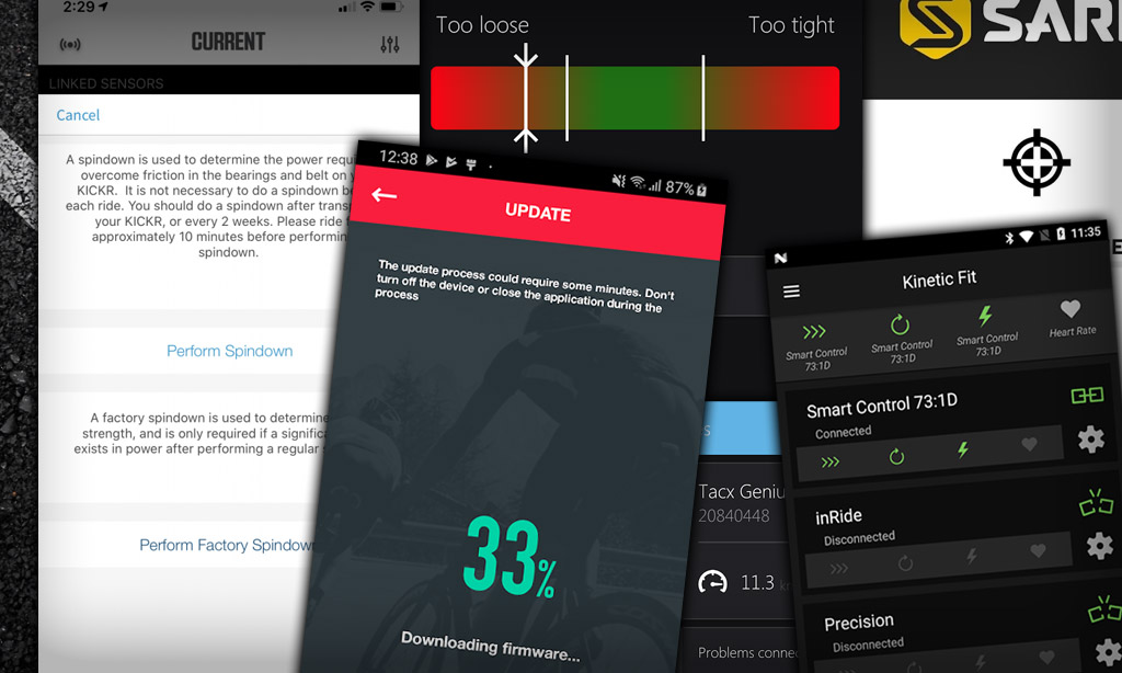A Complete List of iOs and Android Apps for Calibrating Smart Trainers and Updating Firmware