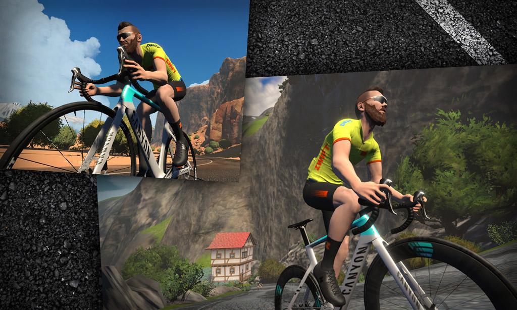 All About Zwift's New Canyon Aeroad 2021 Bike Frame