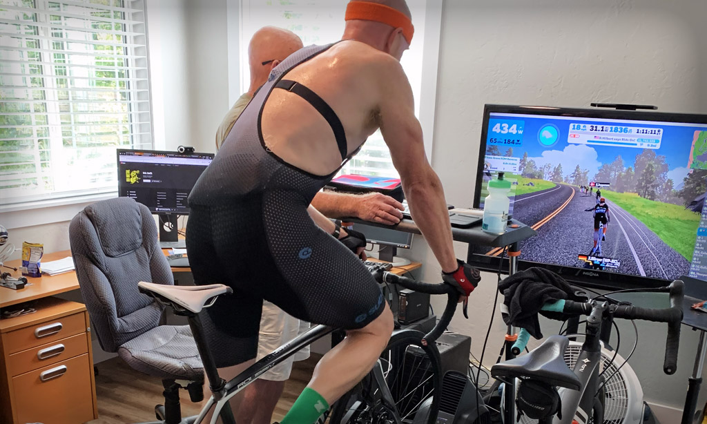 How the Race Was Lost: Zwift Racing League, Race 1