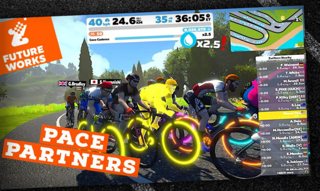 Video: Zwift FutureWorks Pace Partners: New Drop Multiplier Game