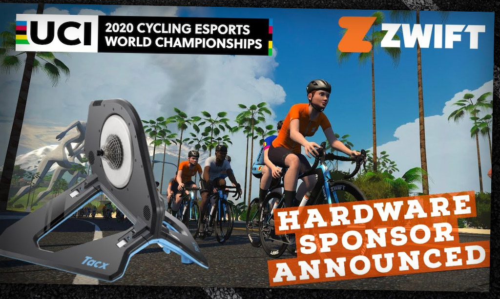 UCI Cycling Esports World Championships: Official Smart Trainer Announced