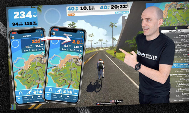 Video: Display W/KG in the Zwift Companion App
