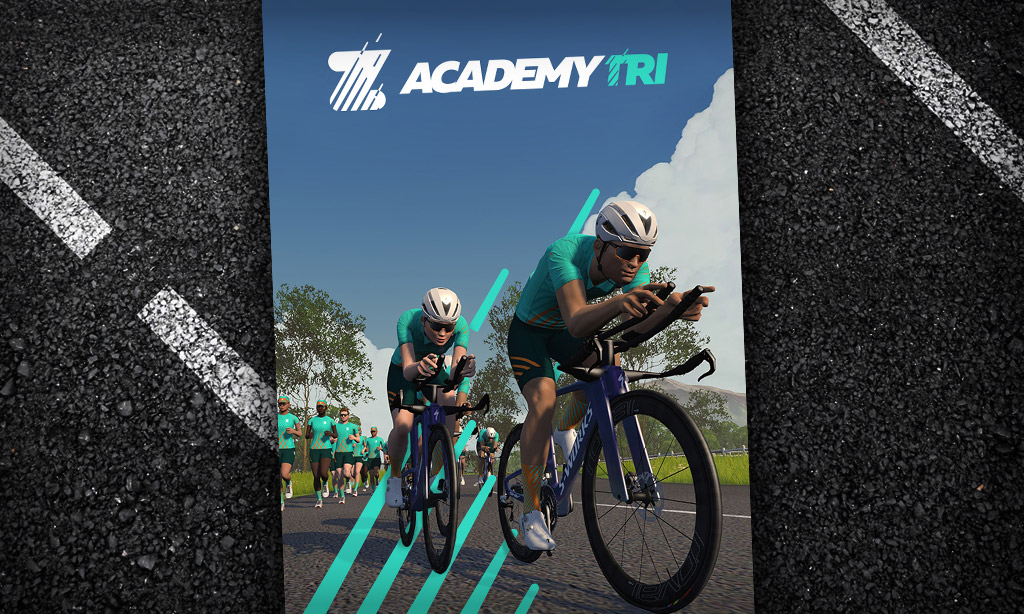 Zwift Academy Tri Begins: Learn About Workouts, Group Events, and Unlocks/Prizes