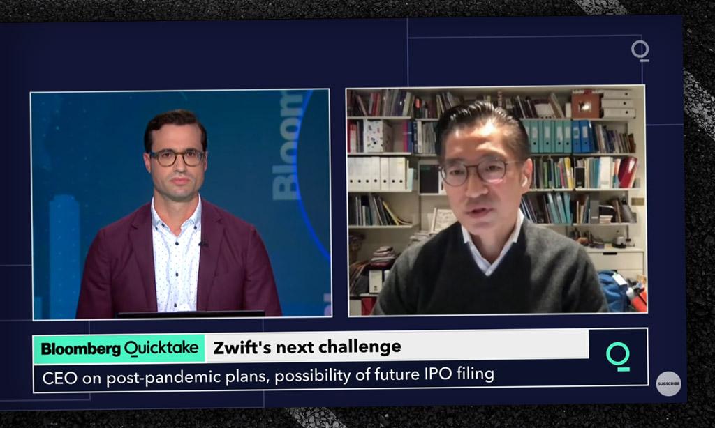 Bloomberg Quicktake Interviews Eric Min