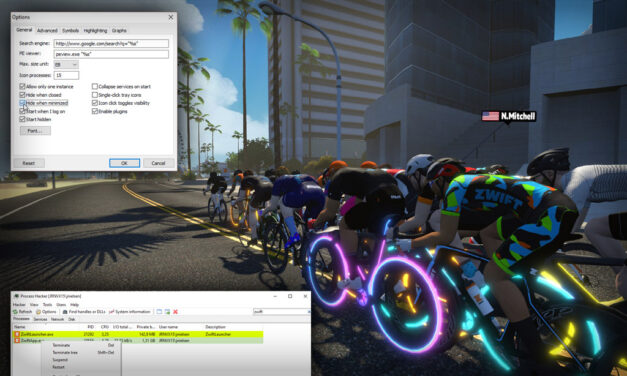 A Simple Way to Fight FPS Dropping and Rubber Banding in Zwift