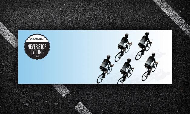Garmin Never Stop Cycling Tour Announced