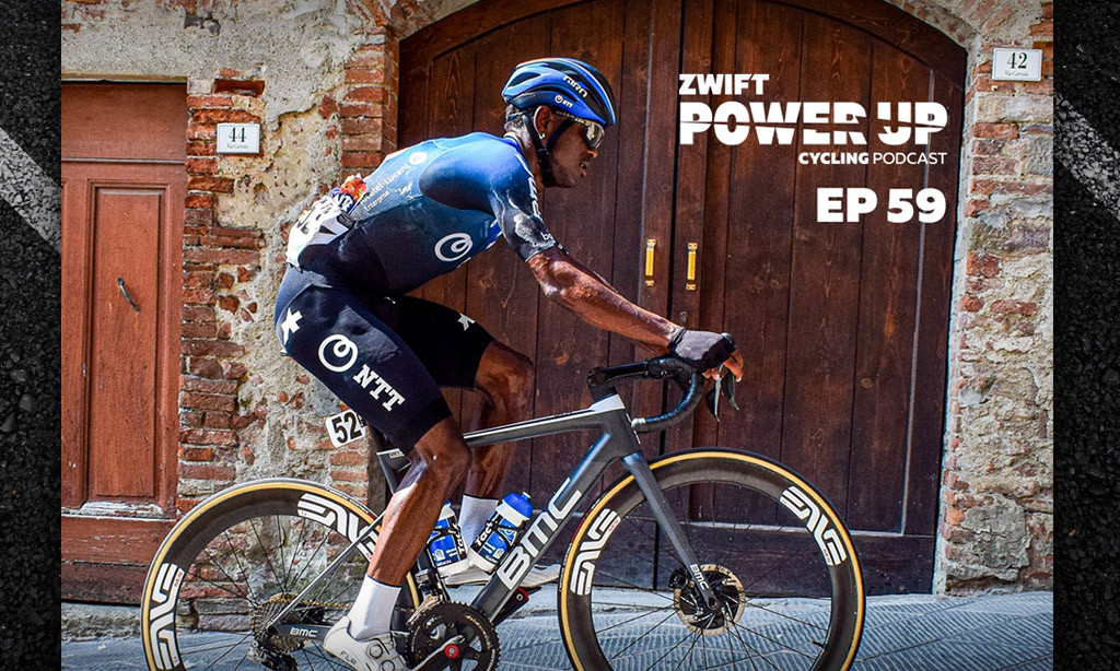 Nicholas Dlamini: Township to the World Tour (Zwift PowerUp Cycling Podcast #59)