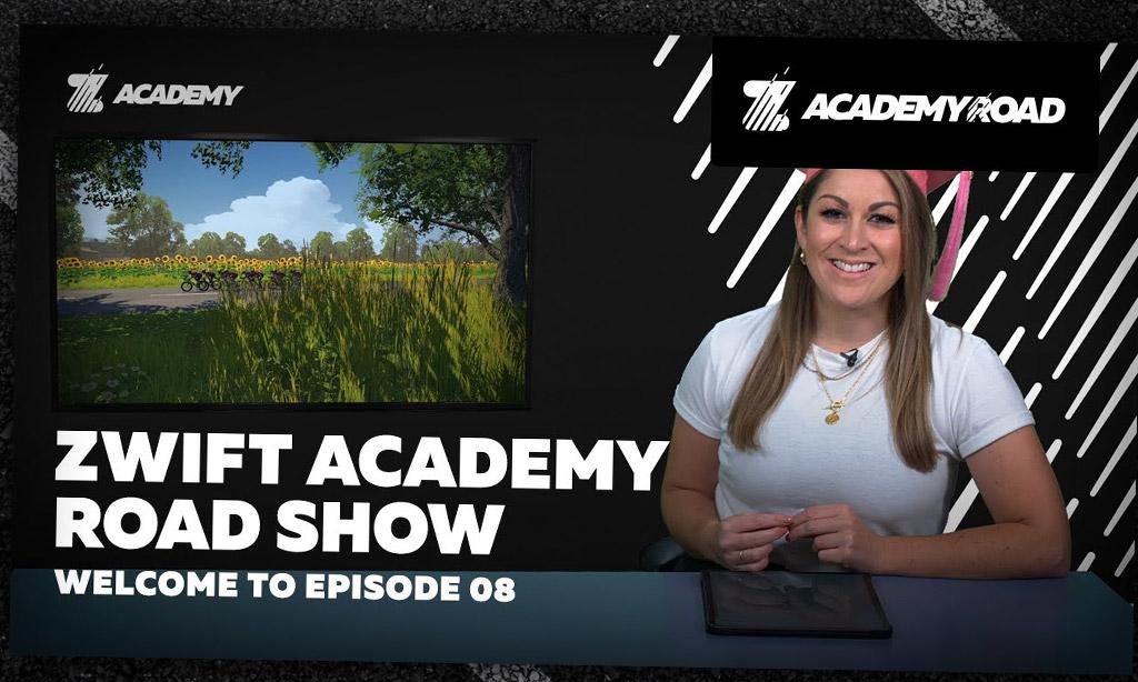 Zwift Academy RoadShow, Episode 8
