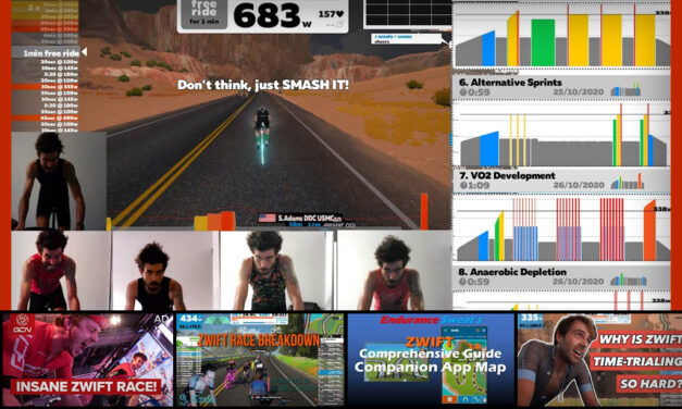 This Week's Top 5 Zwift Videos: Zwift Academy Gains, GCN Races ZCL, App Map Guide