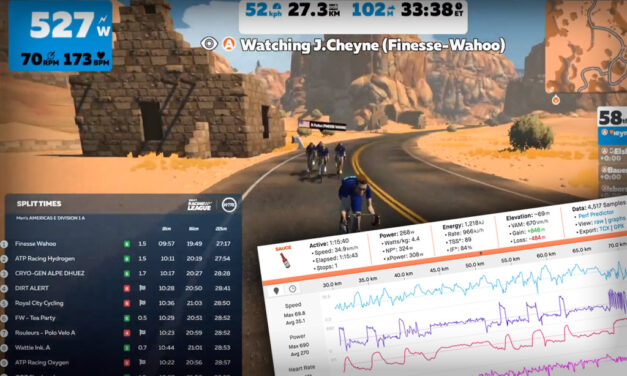 Breaking it Down and Building Up: My Training for Zwift UCI World Champs