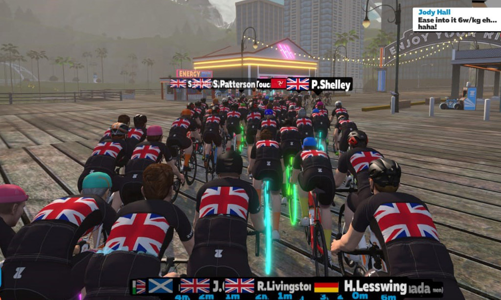The View from the Back – Nations Challenge, Team Great Britain