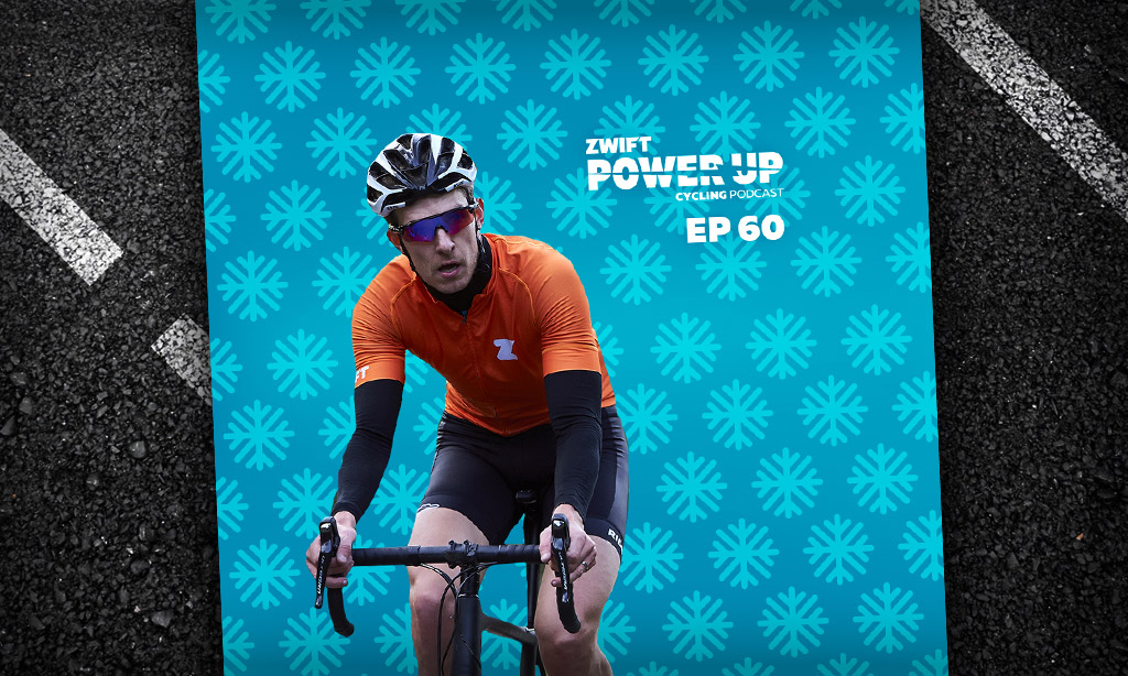 Simon Mottram on the Rapha Festive 500 (Zwift PowerUp Cycling Podcast #60)