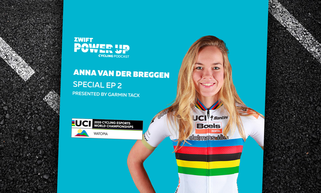 Special Episode Two: Anna Van Der Breggen (Zwift PowerUp Cycling Podcast)