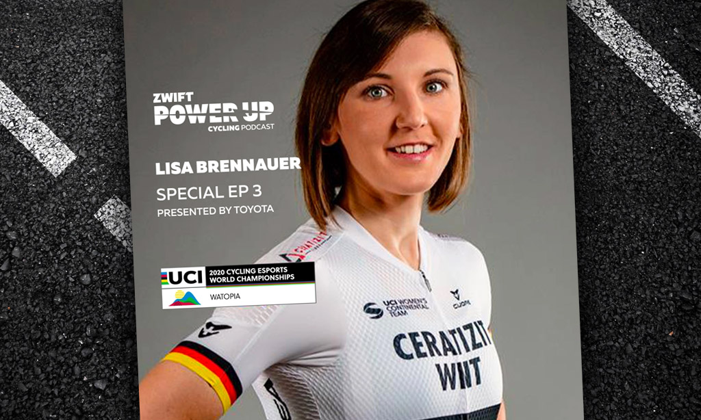Special Episode Three: Lisa Brennauer (Zwift PowerUp Cycling Podcast)