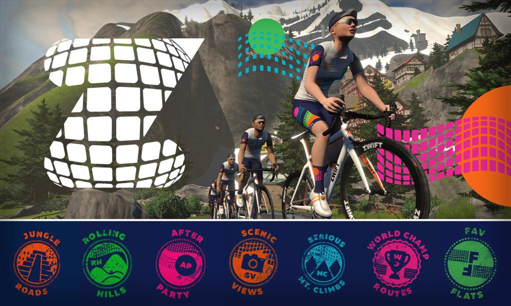 Tour de Zwift 2021: Details for Riders