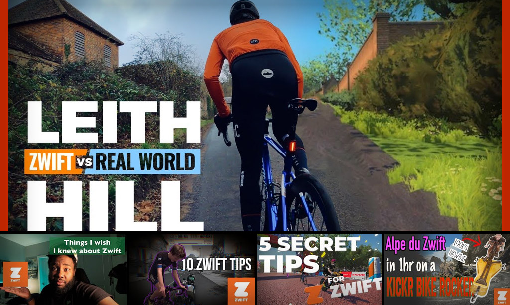 This Week's Top 5 Zwift Videos: Leith Hill IRL, Rocking the Alpe, Beginner Tips and Beyond