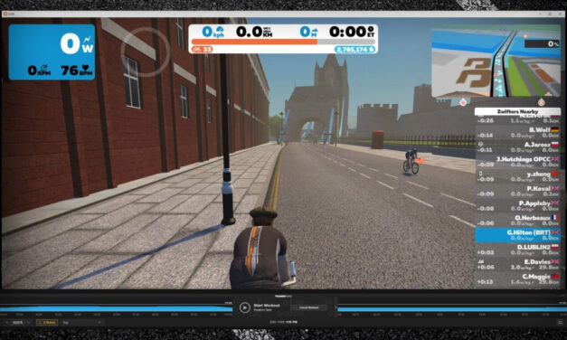 Running Zwift and TrainerRoad Together