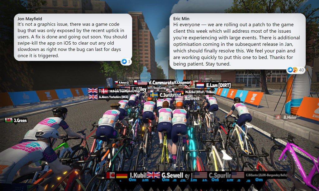 Zwift To Release Important Performance Bug Patch