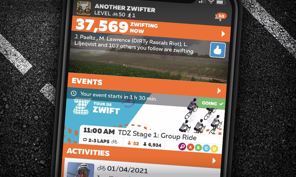 "New ""Peak Zwift"" Achieved: 37,569"