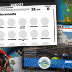 All About Cycling Route Achievement Badges in Zwift