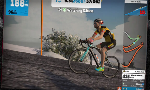 An Interview with Sepp Kuss On Alpe du Zwift