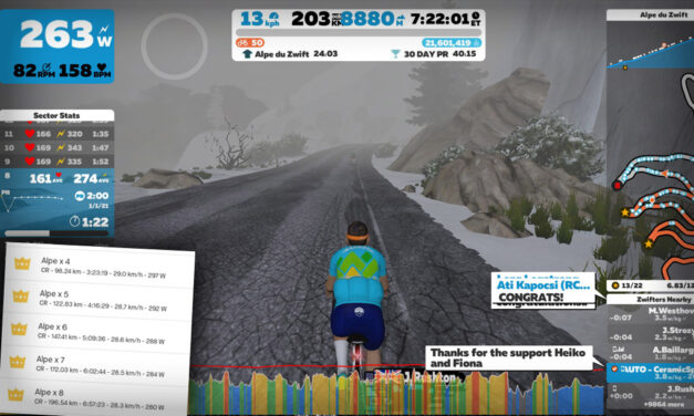 Michael Knudsen: Zwift's vEveresting World Record Holder