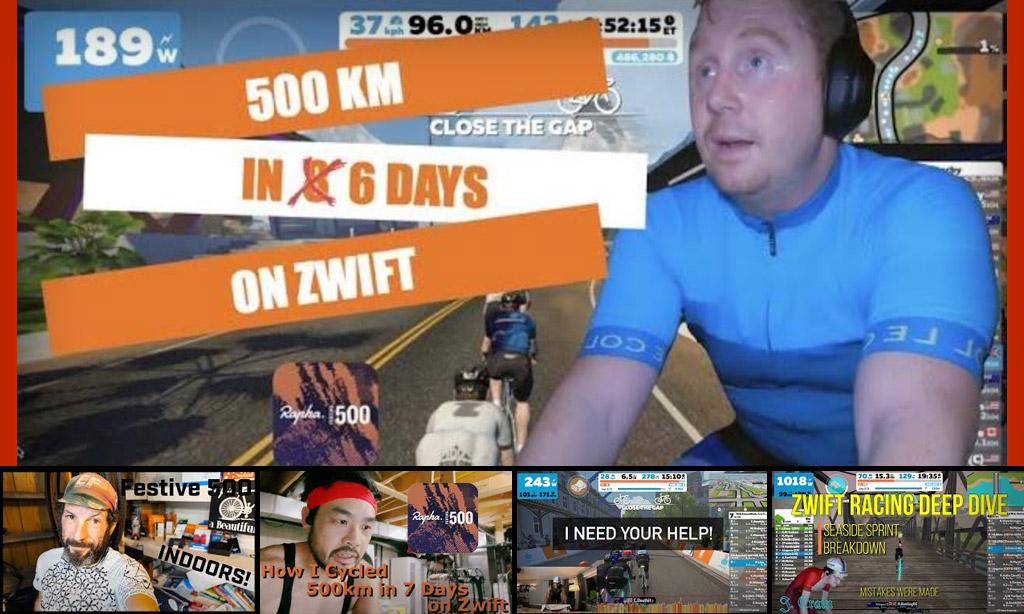 Top 5 Zwift Videos: Rapha Festive 500, Beginner Racing, and Race Finales