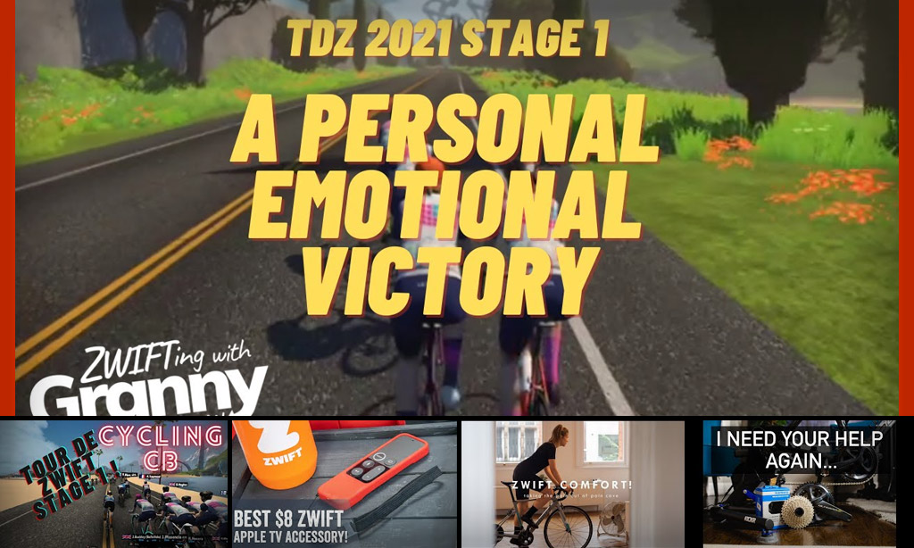 Top 5 Zwift Videos: Tour de Zwift, Apple TV Tip, and Ramp Testing