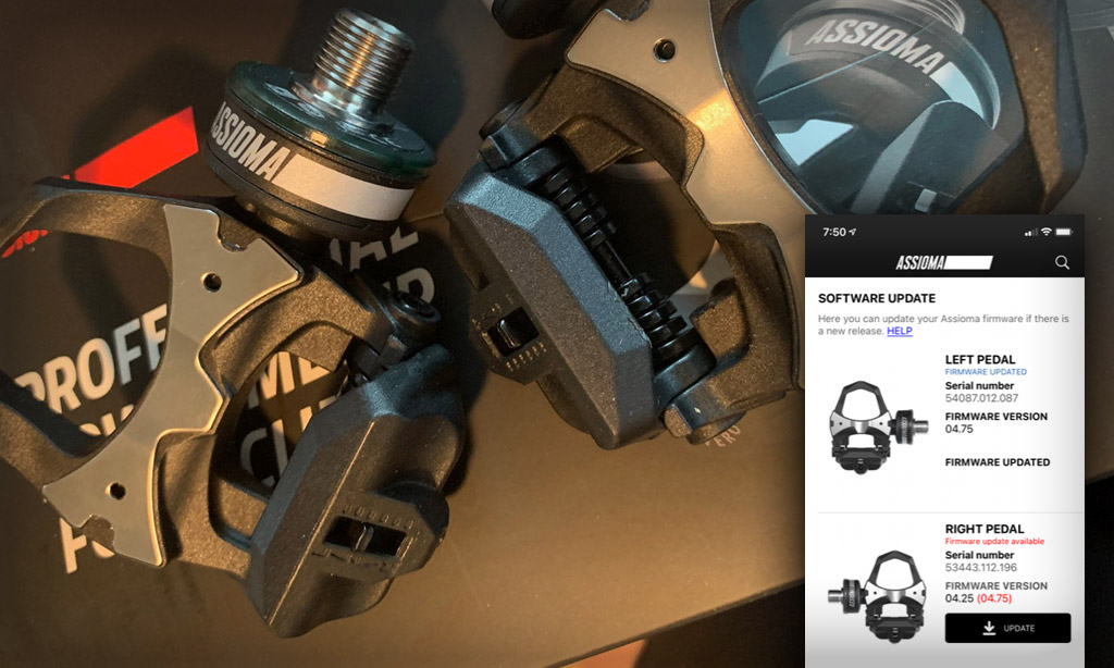 Favero Releases Auto-Calibration Firmware Update for Assioma Pedals