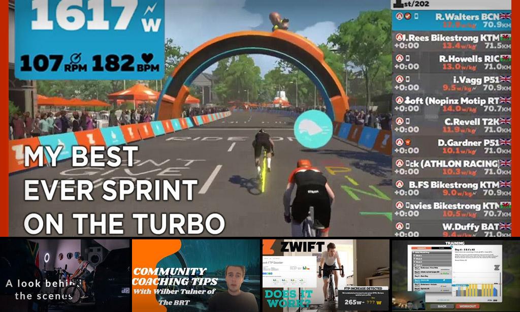 Top 5 Zwift Videos: Race Efforts, TTT Tip, and Hard Workouts