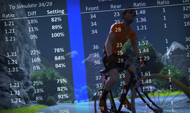 """Using Zwift Trainer Difficulty to Simulate IRL Climb """"Feel"""""""