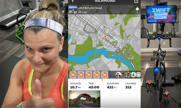 For Michelle Hoad, Zwift is Sure Bet