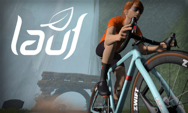 All About the New Lauf True Grit in Zwift