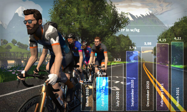 Lucianotes: One Year on Zwift