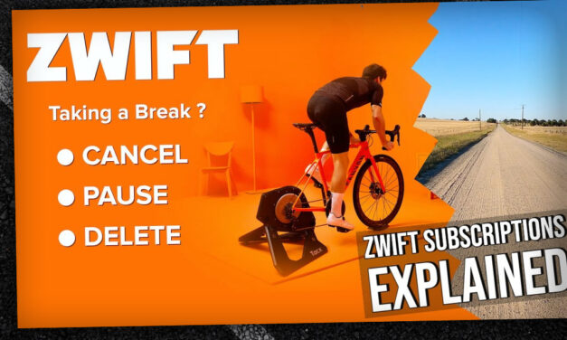 Video: Zwift Subscriptions Explained: Cancelling, Pausing, and Deleting Accounts