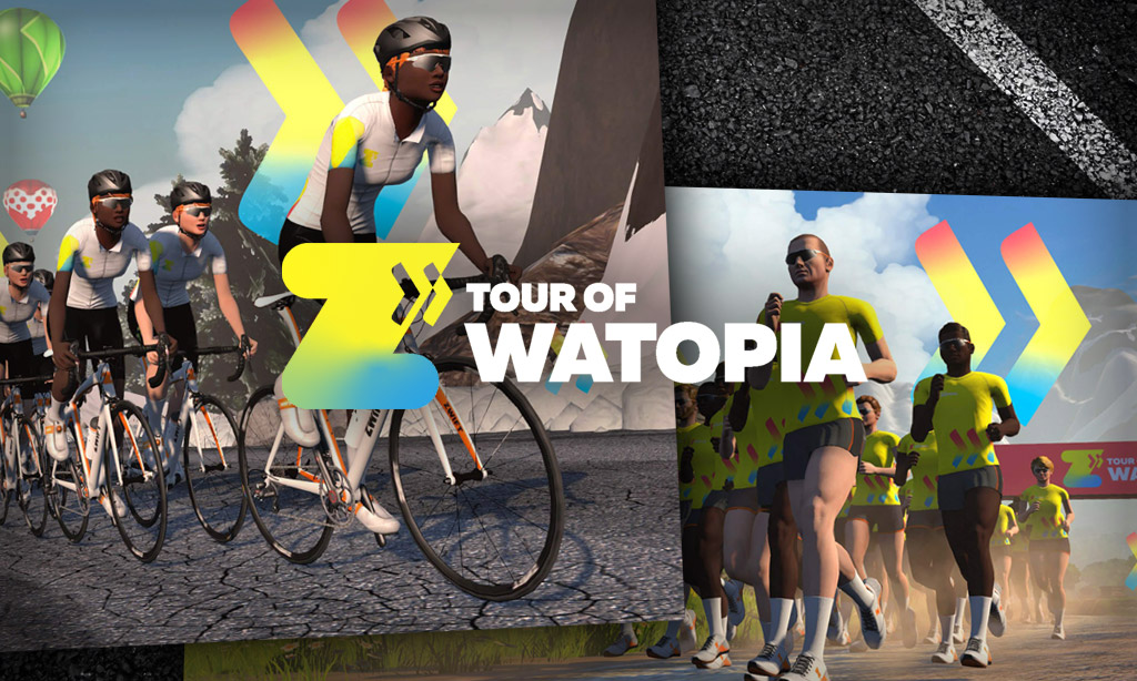 Tour of Watopia 2021: Stage and Unlock Details for Riders and Runners