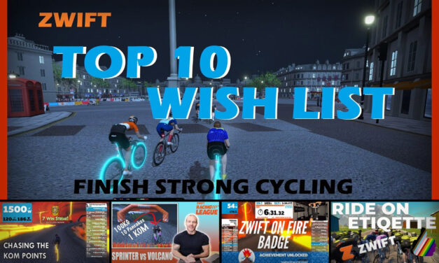 Top 5 Zwift Videos: Zwift Wish List, KOM Points, and Ride Ons