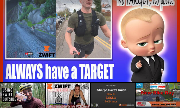 Top 5 Zwift Videos: Training Targets, Losing Races, and Zwifting Outdoors
