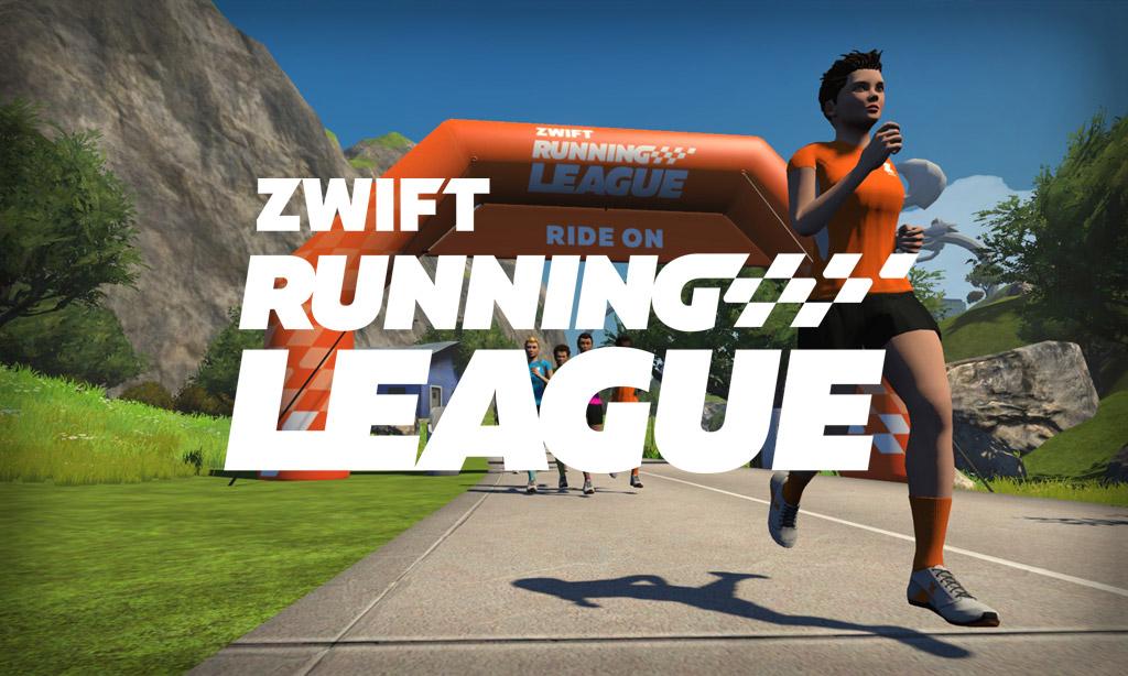 Zwift Running League Announced, Starting April 16