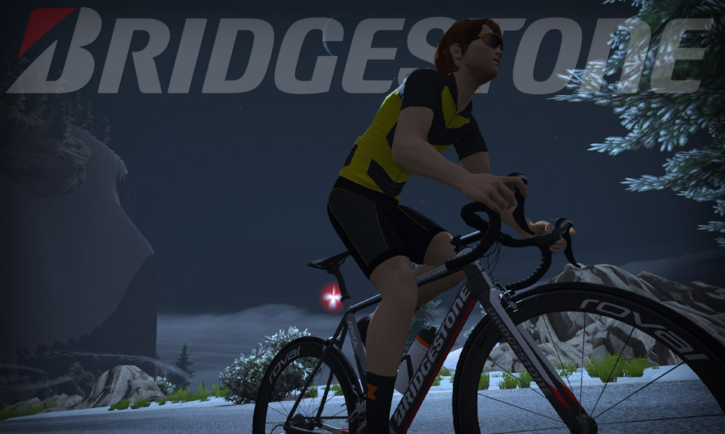 All About Zwift's Bridgestone Anchor RS9s Frame