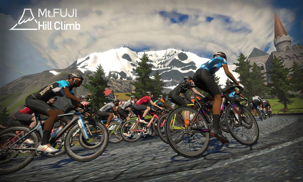 Mount Fuji Hill Climb Dojo Series 2021